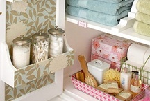 Small Bathroom Solutions / by Lauren Smith
