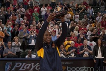 #24 Tamika Catchings / Drafted by the Indiana Fever in 2001, Tamika Catchings is a leader both on and off the court.   2012 WNBA Finals MVP 2011 WNBA MVP Six-time WNBA All-Star Selection Six-time All-WNBA Team