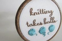 Knitting, It Takes Balls / Knitting