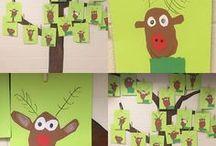 Kindergarten Christmas activities / Fun ideas for Christmas in kindergarten.