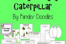 Kindergarten Buggy ideas / Bug related craft & activity ideas.