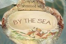 By The Sea / Seashell Art