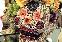 'Tis the Muertos Season / Elegant Day of the Dead & Halloween Inspiration