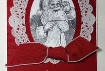 Cards Santa / by Sandy Dean Johnson Copeland