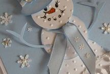 Cards Snowmen / by Sandy Dean Johnson Copeland