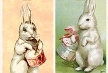 Easter Eggs & Rabbits / Easter