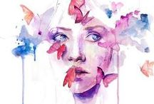 watercolors / by Paulina Celofan