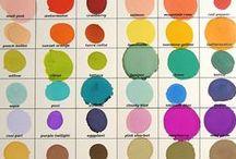 Color Palettes / Inspirational color palettes