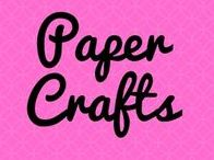 Crafts to do with paper / Things to do with paper for children
