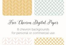 Design Resources / Free + affordable resources for bloggers and designers. Includes printables, clip-art, patterns, digital papers, social media templates.