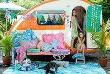 The glamorous trailer....