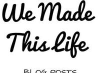 We Made This Life Blog Posts / Blog posts from the blog We Made This Life. Parenting, Lifestyle, Homes, Interiors, Recipes, Fashion and Beauty. All from http://wemadethislife.com