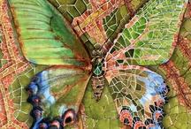 Nature - Butterflies, moths and dragonflies