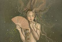 Art - Mermaids and sirens / by Rusty Tricycle