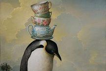 Art - Penguin items