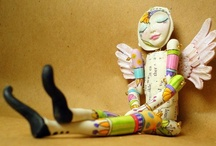 Art - Dolls and sculptures 3 / by Rusty Tricycle