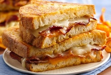 Grilled Cheeses Cheesey Gooey GREAT!