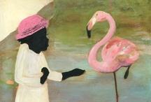 Art - Flamingo