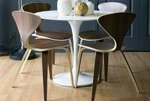 modern furniture and chairs / by Janell