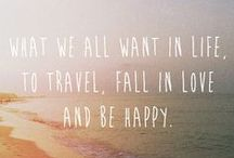 Travelspiration. / Take me away...far from here.