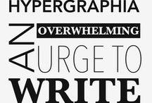 Aye Write. / Writing Tips, Tricks & Motivation