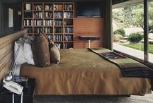 Beautiful bedrooms and bedding / by Janell