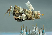 Art - Flying or floating / by Rusty Tricycle