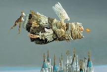Art - Flying or floating