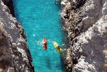 Kayaking Destinations. / Kayaking destinations around the world.