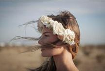 FLOWERS IN HER HAIR / I have a slight obsession with flower crowns and photographs.  / by Chloe Takayanagi