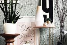 HOME: Vignettes / A collection of interior vignettes.