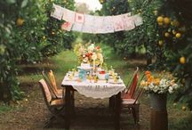 outdoor dining / by Janell