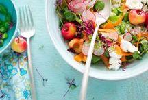 { salads } / All kinds of salads considered