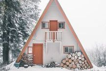 HOME: Cabin. / Inspiration for Christmas Tree Canyon, NM