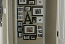 Create a Photo Gallery Wall / Learn how to make your own photo gallery! / by Decor Spark