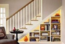 Under Stairs Storage / Everyone can use more storage!   Check out these examples of great under stairs storage. / by Decor Spark