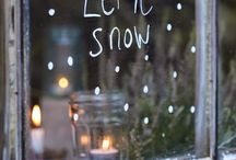 Snow. / Snowflakes are kisses from heaven