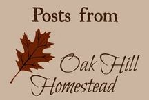 Oak Hill Homestead / Posts from Oak Hill Homestead -  http://www.oakhillhomestead.com