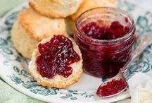 { afternoon tea } / Delicious treats, cakes, biscuits and scones for Afternoon Tea