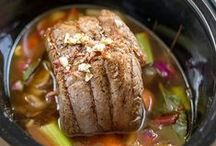 { slow cooker / crockpot inspiration } / Delicious slow cooker / crockpot meals and inspiration