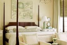 bedrooms / by Diane Shofner