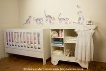 Nursery ideas / Inspiration for decorating baby's nursery / by Liesl van der Hoven