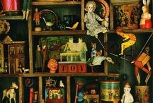 old toys / by Olga Gonorovskаya