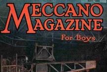 Meccano Magazine Cover Art / by Graeme MacDonald