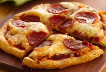 Pizza & Calzones / by ༺♥Galway Grl♥༻