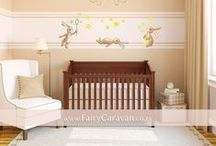 Wall art for kids' rooms / Wall art and decals for nurseries and children's rooms