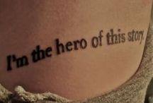 Tattoos / by Olivia Jones