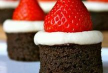 Christmas Treat Ideas / Here you'll find a list of delicious Christmas day treats. / by Mama of 3 Munchkins