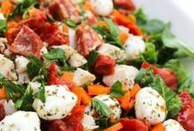 Salad Recipes / Here you'll find a list of delicious salads. / by Mama of 3 Munchkins