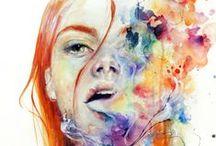 Watercolor Painting / by Olivia Jones